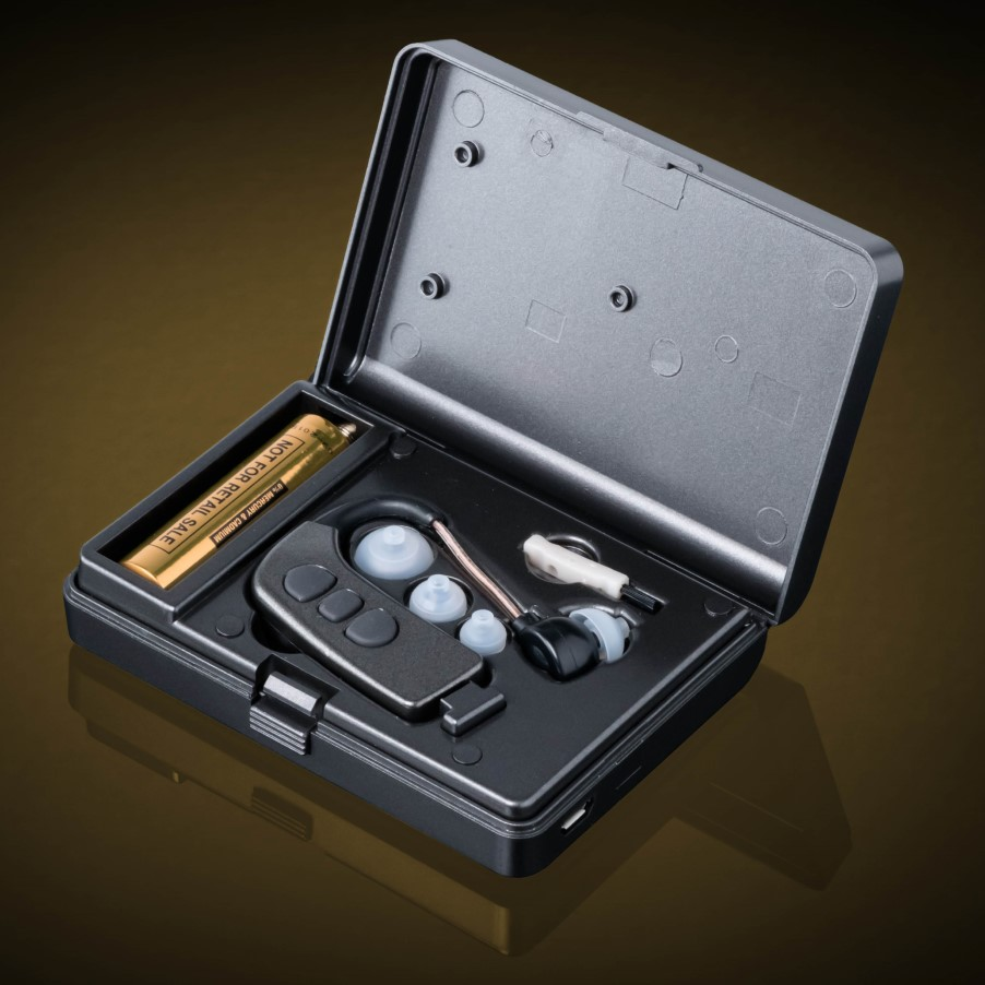 Rechargeable Bluetooth Hearing Aid _ BTE type