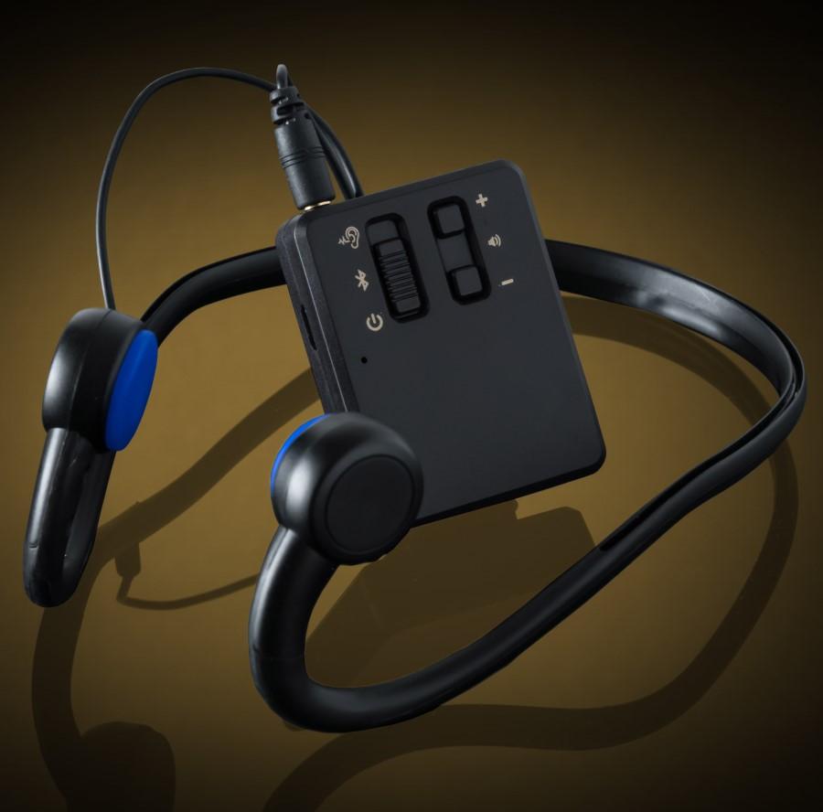 藍牙充電骨導式助聽器