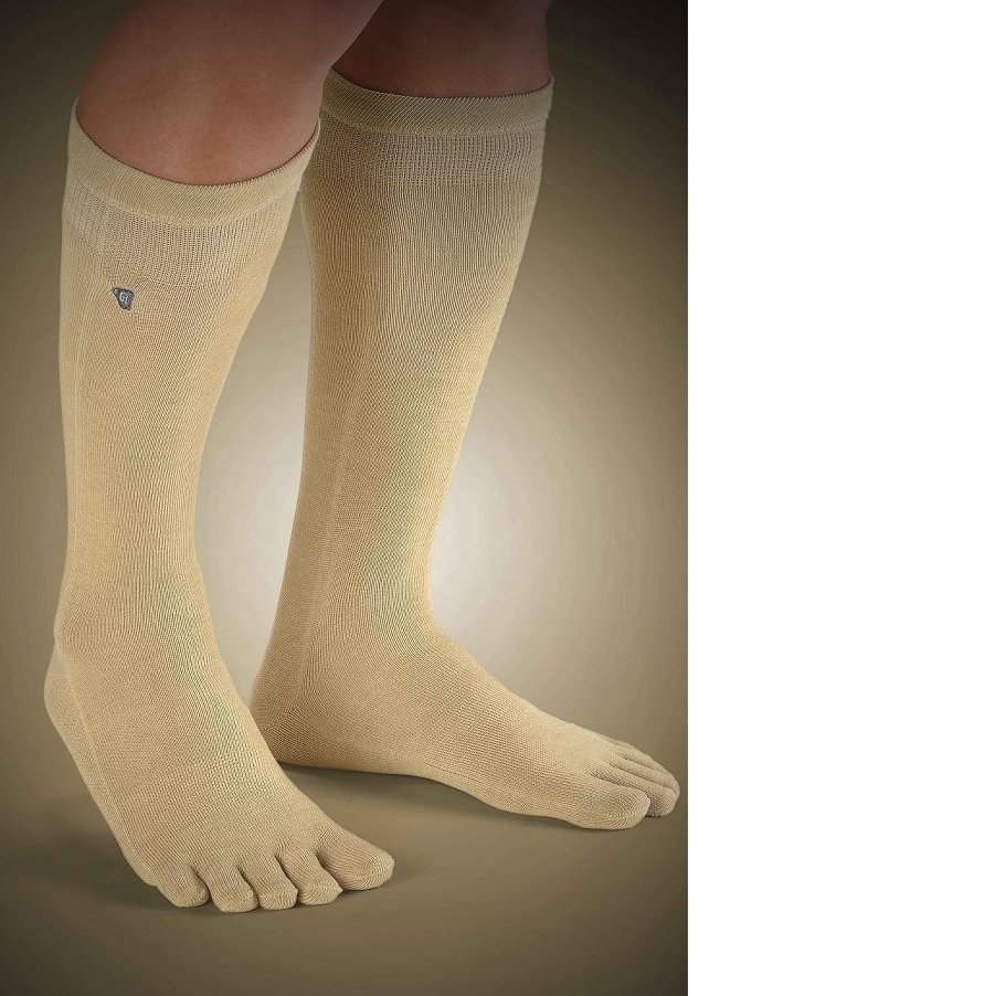 copper care socks with toe